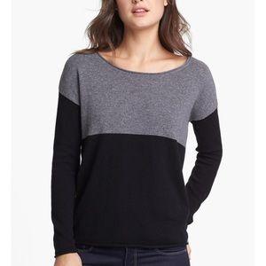 Super soft colorblock splendid sweater EUC!💓